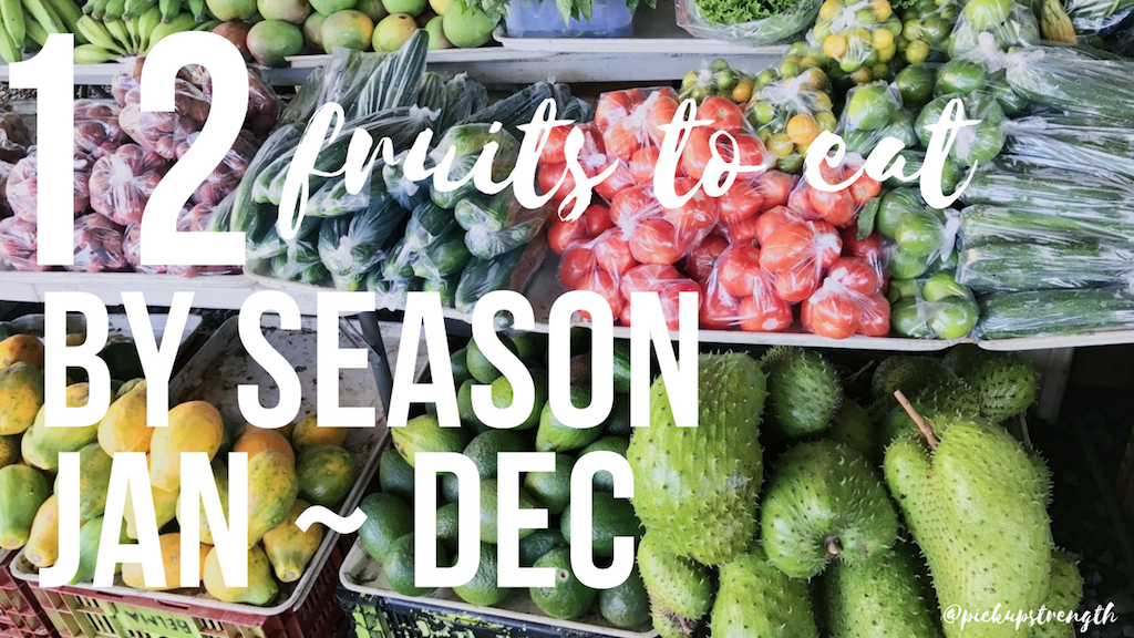 FRUITS BY SEASON | seasonally, tropical, raw fruits.